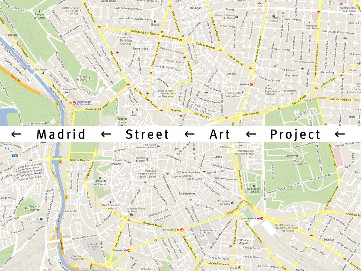 Madrid Street Art Project  IS Creative Studio